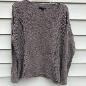 American eagle sweater Beige Sz L
